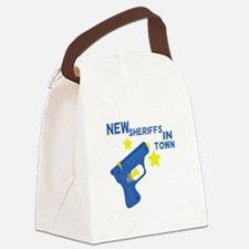 New Sheriffs In Town Canvas Lunch Bag