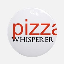 Pizza Whisperer Ornament (Round)
