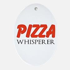 Pizza Whisperer Ornament (Oval)