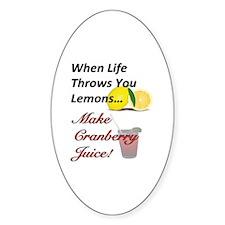 When Life Throws You Lemons...Make  Decal