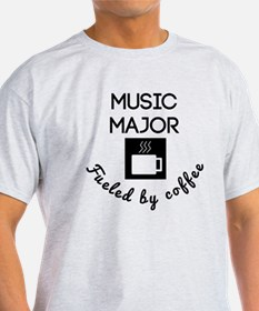Music Major Fueled By Coffee T-Shirt