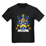 Besset Family Crest Kids Dark T-Shirt