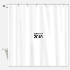 Class of 2018 Shower Curtain