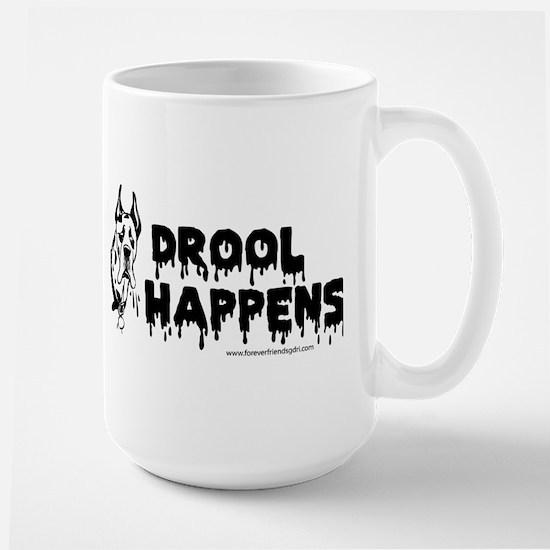 Drool Happens Mugs