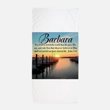JOHN 3:16 VERSE Beach Towel
