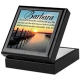 John 3 16 Square Keepsake Boxes
