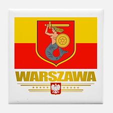 Warszawa Tile Coaster