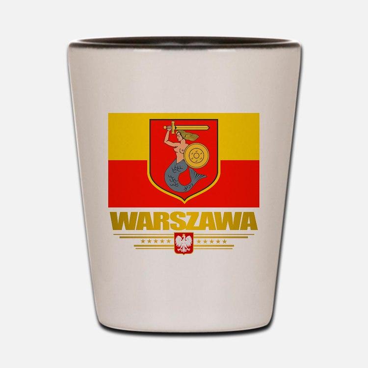 Warszawa Shot Glass