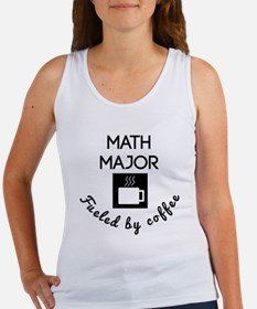Math Major Fueled By Coffee Tank Top