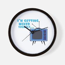 Mixed Signals Wall Clock
