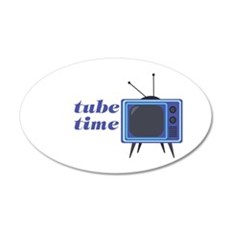 Tube Time Wall Decal