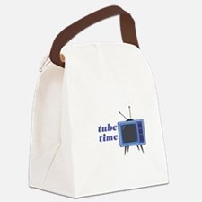Tube Time Canvas Lunch Bag