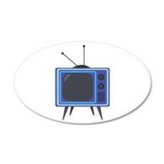 Television Wall Decal