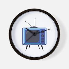 Television Wall Clock
