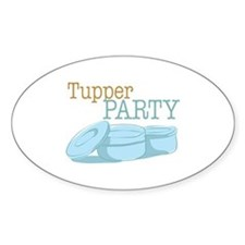 Tupper Party Decal