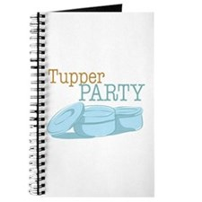 Tupper Party Journal