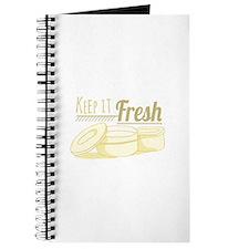 Keep It Fresh Journal