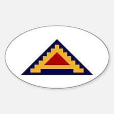 Cute 7th signal brigade Sticker (Oval)