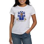 Berthoud Family Crest Women's T-Shirt