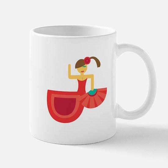 Spanish Dancer Mugs