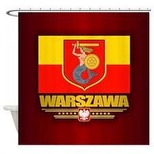 Warszawa Shower Curtain