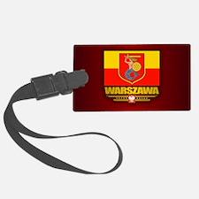 Warszawa Luggage Tag