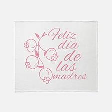 Dia De Las Madres Throw Blanket