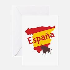 Espana Greeting Cards