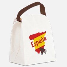 Espana Canvas Lunch Bag