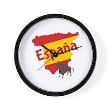 Espana Wall Clock