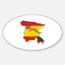 Madrid Decal