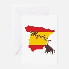 Madrid Greeting Cards