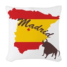 Madrid Woven Throw Pillow