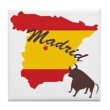 Madrid Tile Coaster
