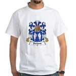 Bertaud Family Crest White T-Shirt