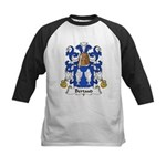Bertaud Family Crest Kids Baseball Jersey