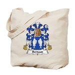 Bertaud Family Crest Tote Bag
