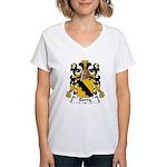 Berry Family Crest Women's V-Neck T-Shirt