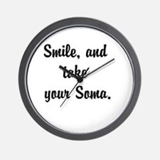 Smile, and take your Soma Wall Clock