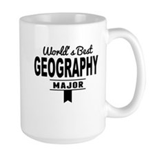 Worlds Best Geography Major Mugs