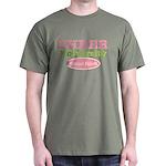 Cheer U School Spirit Green Cheerleading T-Shirt