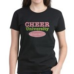 Cheer U School Spirit Cheerleading Black T-Shirt