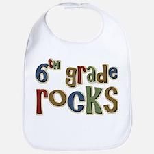 6th Grade Rocks Sixth School Bib