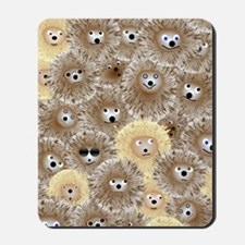 Hedgehog Party Mousepad