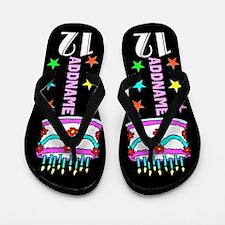 Happy 12th Birthday Flip Flops