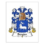 Bergier Family Crest Small Poster