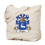 Bergier Family Crest Tote Bag