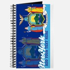 Personalized New York State Flag Journal