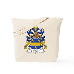 Bergeret Family Crest Tote Bag