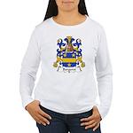 Bergeret Family Crest Women's Long Sleeve T-Shirt